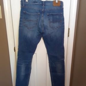 NWOT 34X32 LUCKY BRAND MENS JEANS 110 SKINNY